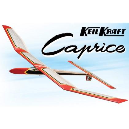 """Keil Kraft Caprice Kit 51"""" Free-Flight Towline Glider KK1010"""