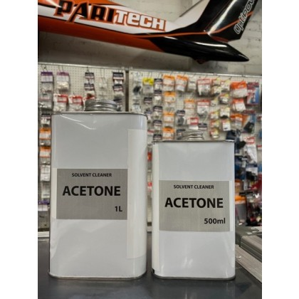 Acetone 1000ml Ideal for cleaning Fuel Tanks