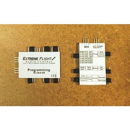 Airboss Programming Card From Extreme Flight (AIRBPROGC)