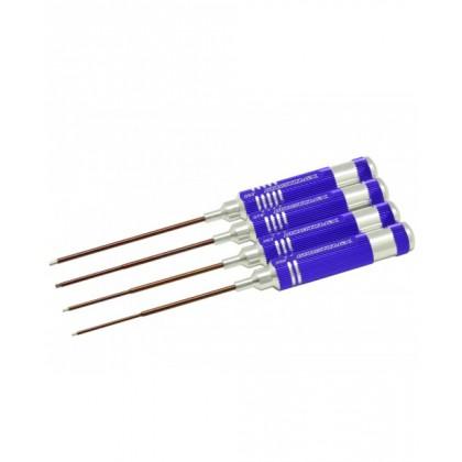 Arrowmax Allen Wrench Set .050, .063, .078, .093 (4 pcs) AM110882
