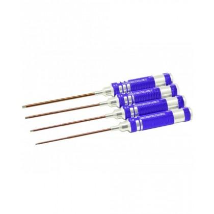 Arrowmax Allen Wrench Set 1.5, 2.0, 2.5, 3.0mm (4 pcs) AM110991