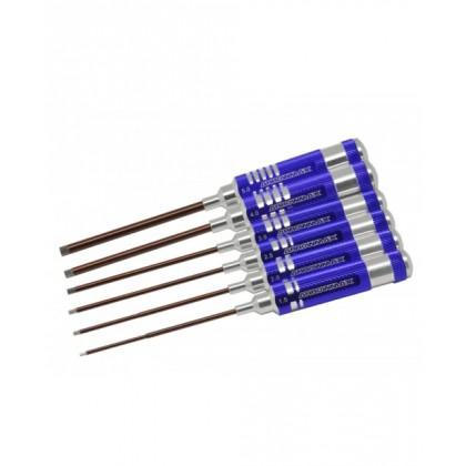 Arrowmax Allen Wrenches 1.5, 2.0, 2.5, 3.0, 4.0, 5.0mm (6 pcs) AM110992
