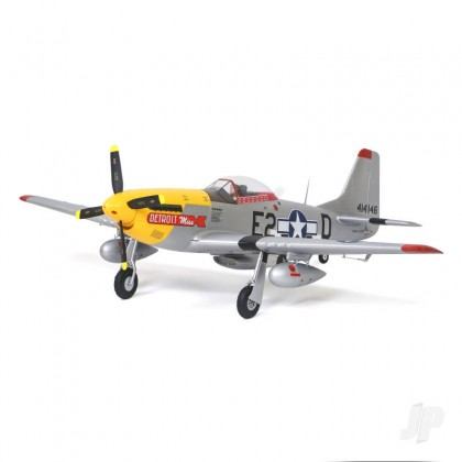 Arrows Hobby P-51 Mustang (Detroit Miss) PNP with Retracts (1100mm) ARR004V2P