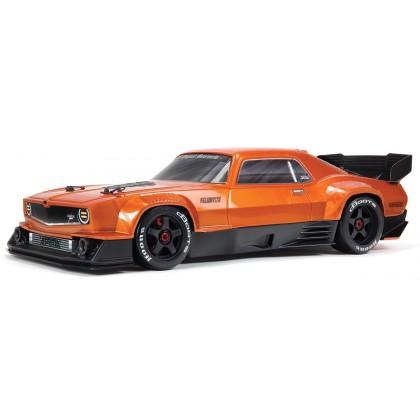 Arrma Felony 1/7 6S BLX Resto-mod Muscle Car Orange ARA7617V2T2