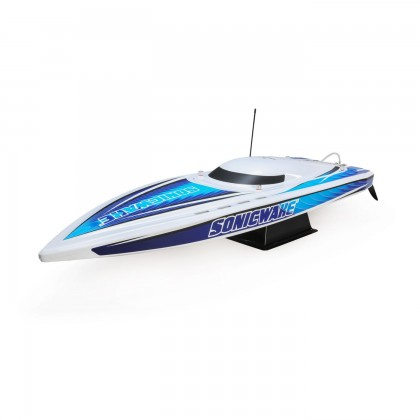 "Proboat Sonicwake 36"" Self-Righting Brushless Deep-V RTR White PRB08032T1"