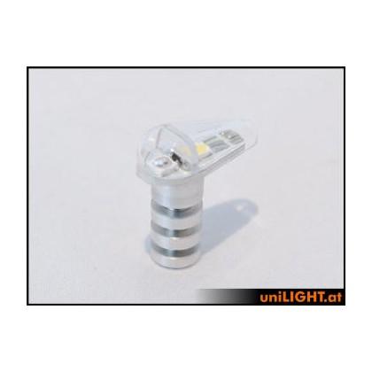 UniLight 3Wx2 Navigation & Strobe 7mm Green/White