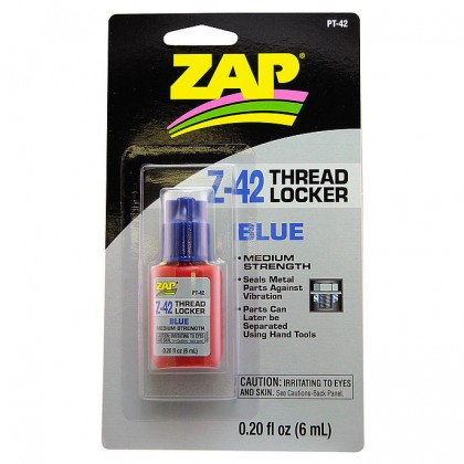 ZAP Z-42 Blue Thread Locker 0.2 oz PT-42
