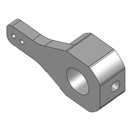 ER-40eVo Servo Plate Steering Arm for Electron Retracts