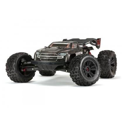 Arrma 1/8 Kraton 4WD EXtreme Bash Roller Monster Truck - Black ARA106053