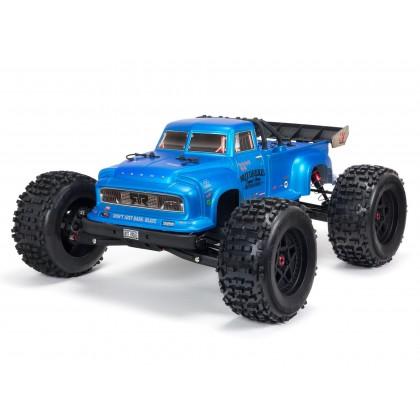 Arrma 1/8 Notorious 6S V5 4WD BLX Stunt Truck with Spektrum Firma RTR Blue ARA8611V5T2