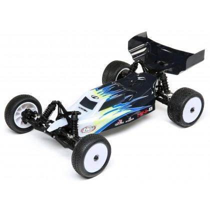 Losi 1/16 Mini-B Brushed RTR 2WD Buggy - Black/White LOS01016T2