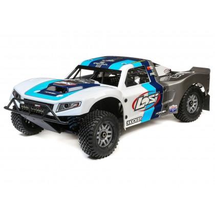 Losi 5IVE-T 2.0 V2 1/5 4WD SCT Petrol BND Grey/Blue/White LOS05014V2T1