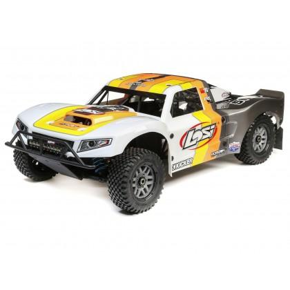 Losi 5IVE-T 2.0 V2 1/5 4WD SCT Petrol BND Grey/Orange/White LOS05014V2T2