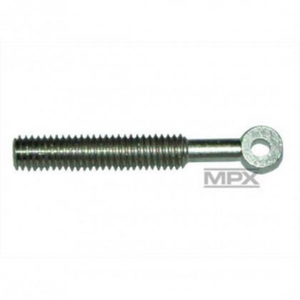 Multiplex Brass Ring Screw M3 (Pack of 6) 713858 4041033018583