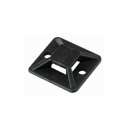Cable Tie Adhesive Base Black (10 Pack) CBT-0915