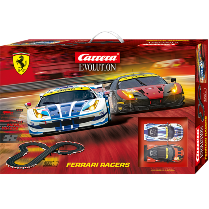 Carrera Evolution 1/32 Scale Ferrari Racers CA25222