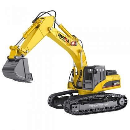 HUINA 1/14 FULL ALLOY 23CH 2.4G V2 EXCAVATOR (VERSION 3.0) CY1580