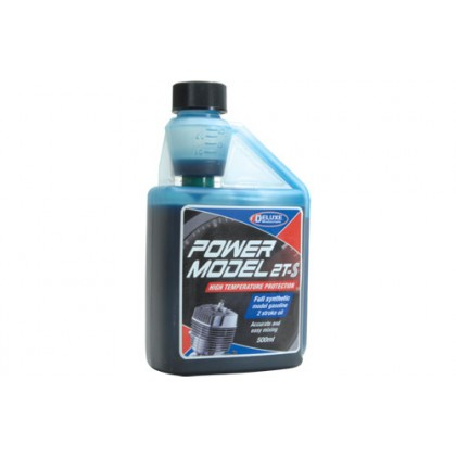 Power Model 2T-S Oil 2 Stroke Oil from Deluxe Materials (500ml) LU01
