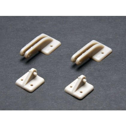 Door Hinges 39 x 17mm PK2 X0870