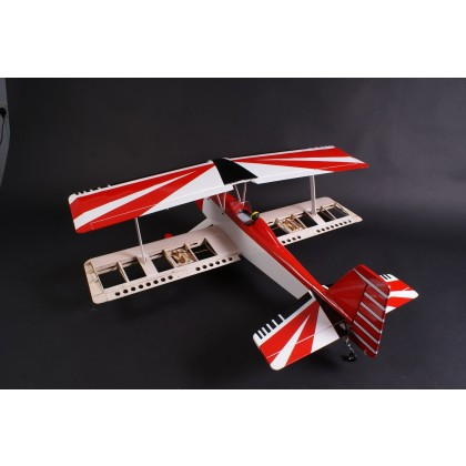 Max Thrust Pro-Build Balsa Double Trouble ARTF Red - IC or Electric 1-MT-BALSA-D/T-R