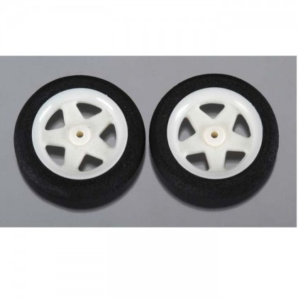 Dubro 1.45in Micro Sport Wheels (37mm) Pack of 2 DUB145MS