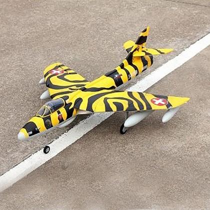 Dynam Hawker Hunter 70mm EDF 850mm Wingspan w/o Tx/Rx/Batt DYN8976YB