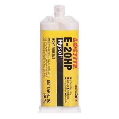Loctite Hysol E-20HP Epoxy 50ml Cartrodge with Nozzle