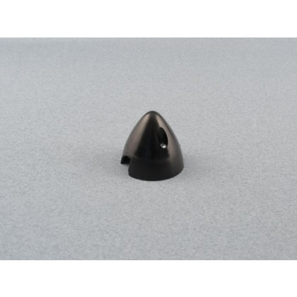 """Black 38mm (1.1/2"""") 2 Blade spinner Ref: SL950B-R"""