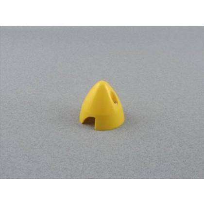"Yellow 38mm (1.1/2"") 2 Blade Spinner"
