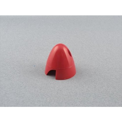 "Red 43mm (1.3/4"") 2 Blade Spinner"