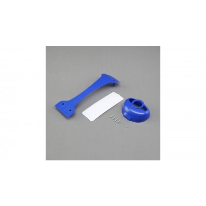 E-Flite Valiant 1.3 Plastic part set (cowl/door/joiner) EFL4960