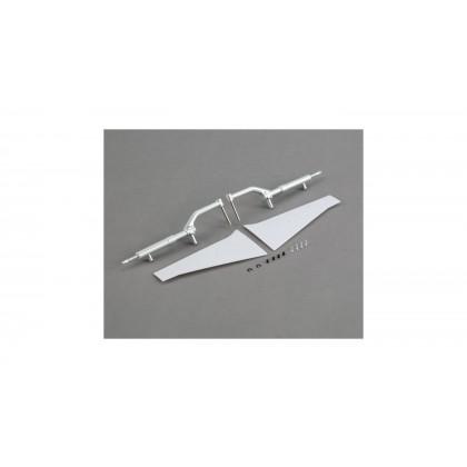E-Flite Landing Gear Struts & Door Set: P-51D 1.2m EFL8207