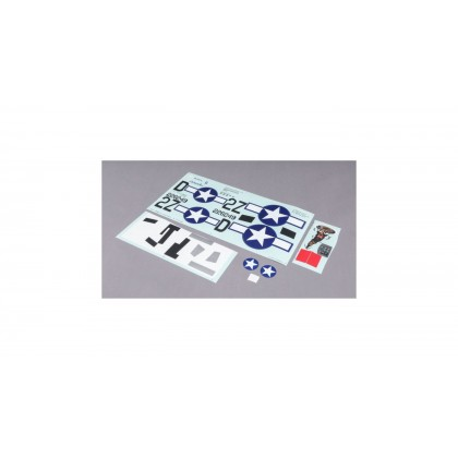 E-Flite Decal Sheet: P-47 1.2m EFL8456