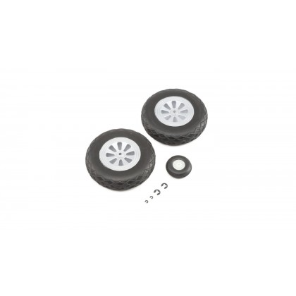 E-Flite Wheel Set: P-47 1.2m EFL8462