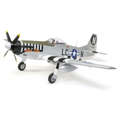 E-Flite P-51D Mustang 1.2m BNF Basic with AS3X and SAFE Select EFL8950