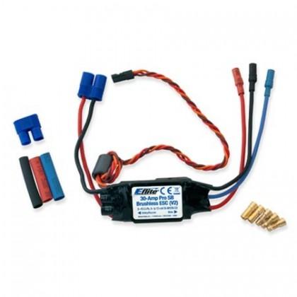 E-Flite 30A Pro Switch-Mode BEC Brushless ESC (V2) EFLA1030B