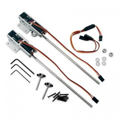 E-Flite 60-120 90 Degree Strut Ready Main Electric Retract EFLG500