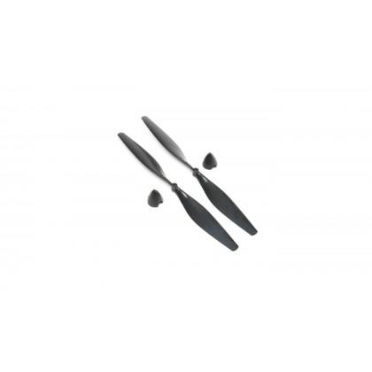 E-Flite Prop w/ Spinner(2): 140mm x 60mm EFLU3551