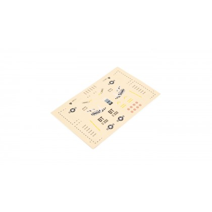 E-Flite Decal sheet: UMX A-10 BL EFLU3707