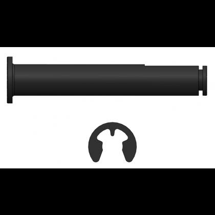 Electron Axle For Main Wheel / Brake 5mm diameter (single wheel set)