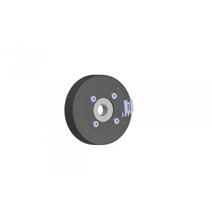 Electron Magnetic Brake Unit with axle Insert Electromagnet