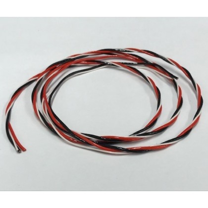 Premium Heat Resistant Servo Cable / Wire Sold per Meter Off the Reel from Hacker / Emcotec R89880040