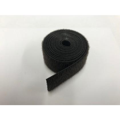 Velcro Strap Endless loop 20mm x 50cm (Black)