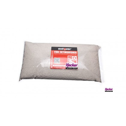 Extover® - Fire protection and Fire-extinguishing granules for Lithium Batteries in plastic pillow 5L