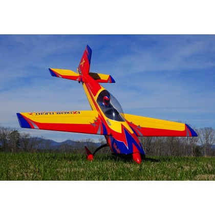 "Extreme Flight Extra 300 60"" EXP V2 Yellow / Red / Blue"
