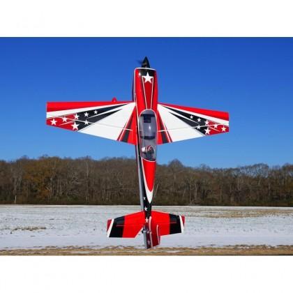 """Extra 104"""" V2 Red/ White/ Black from Extreme Flight 164RWB"""