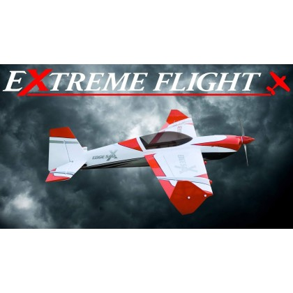 "Extreme Flight 60"" Edge 540T EXP V2 White / Red 225W"