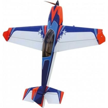 """Extreme Flight Extra 300 60"""" EXP V2 Blue / Orange"""