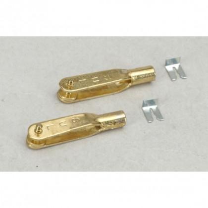 Sullivan 4-40 Gold-N-Clevis (Pack 2) F-SLN526
