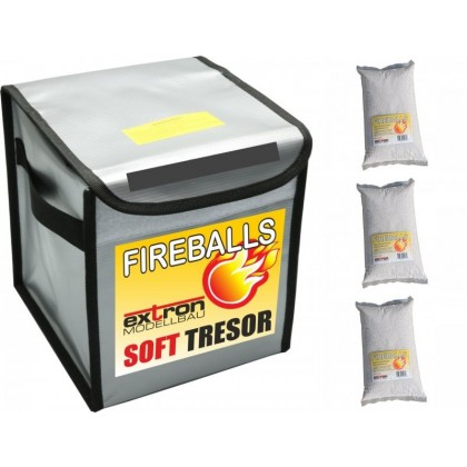FIREBALLS Soft Tresor incl. 3 x 1 litre FIREBALLS X3363